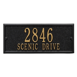 Whitehall Capitol Mailbox Personalized Side Plaque