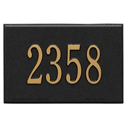 Whitehall Wall Mailbox Personalized Plaque