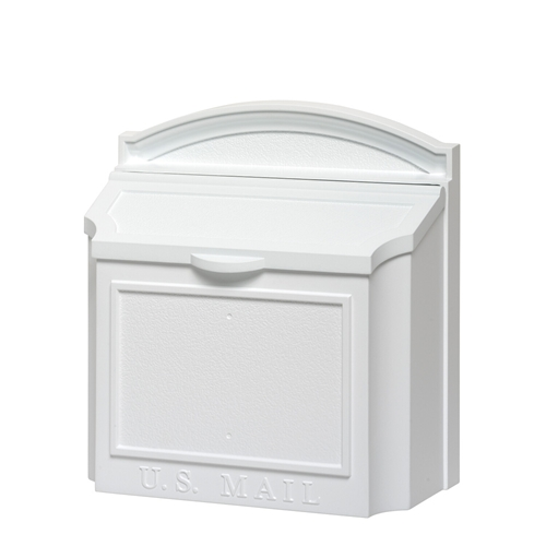 Whitehall Wall Mailbox in White