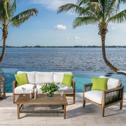 Windward Belize Deep Seating Sofa and Lounge Chair Outdoor Set - WW-BELIZE-SET2