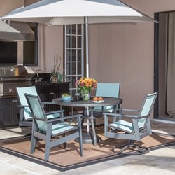 Windward Sienna MGP Sling Outdoor Dining Set for 4 - WW-SIENNA-SET1