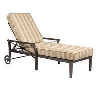 Woodard Andover Cushion Adjustable Chaise Lounge - 510470