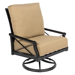 Woodard Andover Cushion Big Mans Swivel Rocking Lounge Chair - 510677