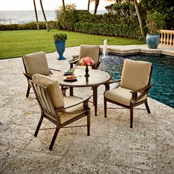 Woodard Arkadia 5 Piece Patio Dining Set - 590401-594800-09248