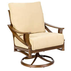 Woodard Arkadia Cushion Swivel Rocking Lounge Chair - 590477