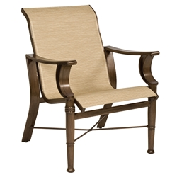 Woodard Arkadia Sling Dining Arm Chair - 5H0401