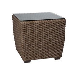 Woodard Augusta Woven Square End Table - S592201