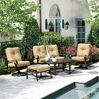 Woodard Belden Cushion Patio Lounge Set - WD-BELDEN-SET2