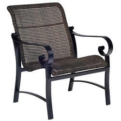 Woodard Belden Woven Lounge Chair - 5J0406