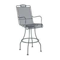 Woodard Briarwood Swivel Bar Stool - 400388