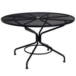 "Woodard Cafe Series 48"" Round Umbrella Table - 280137N"