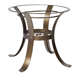 Cascade Wrought Iron Dining Table Base