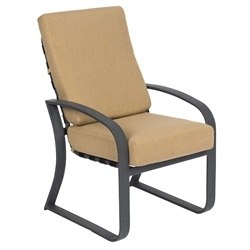 Woodard Cayman Isle Cushion Dining Arm Chair - 2EM425