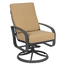 Woodard Cayman Isle Cushion Swivel Rocker - 2EM466