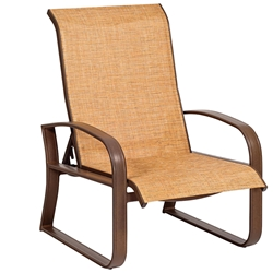 Woodard Cayman Isle Sling Adjustable Lounge Chair - 2FH435