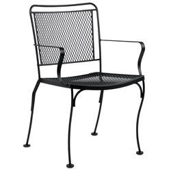 Woodard Constantine Stackable Dining Arm Chair - 130001