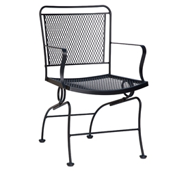 Woodard Constantine Coil Spring Dining Chair - 130066