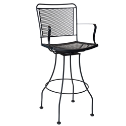 Woodard Constantine Swivel Bar Stool - 130068