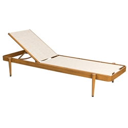 Woodard Daytona Sling Chaise Lounge - Stacking - 120470