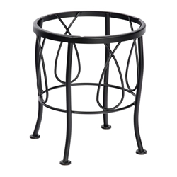 Woodard Delaney Wrought Iron Dining Table Base - 2N2400