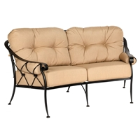 Woodard Derby Crescent Loveseat - 4T0063
