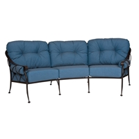 Woodard Derby Crescent Sofa - 4T0064