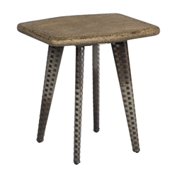 Draper Wicker End Table
