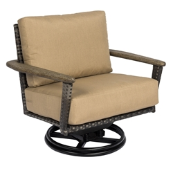 Woodard Draper Swivel Rocking Lounge Chair - S512015
