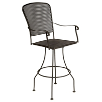 Woodard Fullerton Swivel Bar Stool - 2Z0068