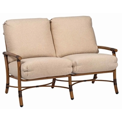 Woodard Glade Isle Cushion Loveseat - 1T0419