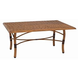 Woodard Glade Isle Rectangular Coffee Table - 1T43BT