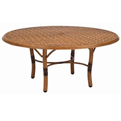 Woodard Glade Isle 36 inch Round Coffee Table - 1T54BT