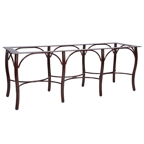Glade Isle Extra Large Dining Table Base Woodard At