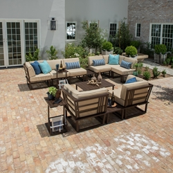 Woodard Harmony Patio Set - WD-HARMONY-SET2