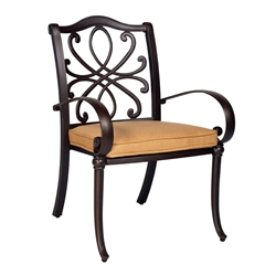 Woodard Holland Dining Arm Chair - 7z0417