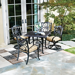 Woodard Holland 5 Piece Patio Dining Set - WD-HOLLAND-SET1