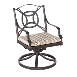 Woodard Isla Swivel Rocker - 4N0472