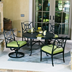 Woodard Isla 5 Piece Patio Dining Set - WD-ISLA-SET1