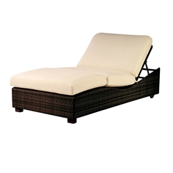 Woodard Montecito Double Chaise Lounge - S511061