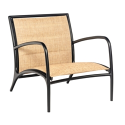 Woodard Orion Lounge Chair with Padded Sling - 990506