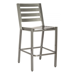 Woodard Palm Coast Slat Armless Bar Stool - 1Y0781