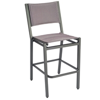 Woodard Palm Coast Padded Sling Bar Stool Without Arms - 570581