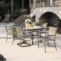 Woodard Ramsgate Outdoor Dining Set for 6 - WD-RAMSGATE-SET2