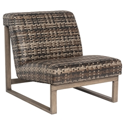 Woodard Reunion Armless Lounge Chair - S648001