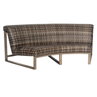 Woodard Reunion Curved Sofa - S648061