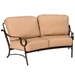 Ridgecrest Cushion Fire Pit Patio Furniture Set - WD-RIDGECREST-SET1