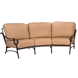 Woodard Ridgecrest Cushion Crescent Sofa - 8PM464