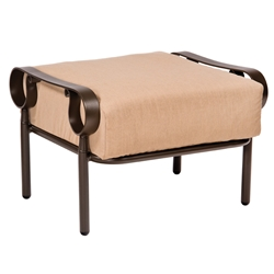 Woodard Ridgecrest Cushion Ottoman - 8PM486