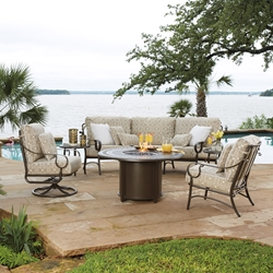 Woodard Ridgecrest Fire Pit Patio Set - WD-RIDGECREST-SET2