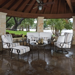 Woodard Ridgecrest Patio Set - WD-RIDGECREST-SET3